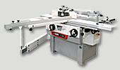 univerzální kombinovaný stroj C 30C – formátovací pila, srovnávací, tloušťkovací a spodní frézka, možnost dlabačka