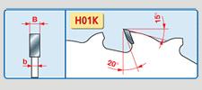 rozmítací pilové kotouče - LM01