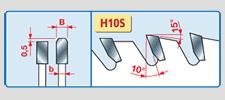pilové kotouče na hliník - LU5A