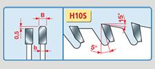 pilové kotouče na hliník - LU5B