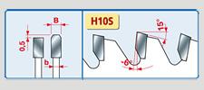 pilové kotouče na hliník - LU5C