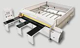 automatická velkoplošná formátovací pila TS 100